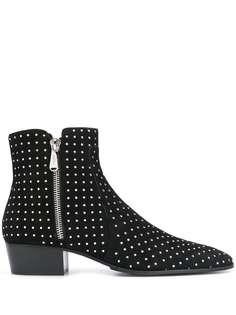 Balmain ботинки с заклепками
