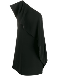 Emporio Armani платье мини на одно плечо