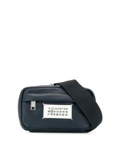 Maison Margiela поясная сумка с нашивкой-логотипом