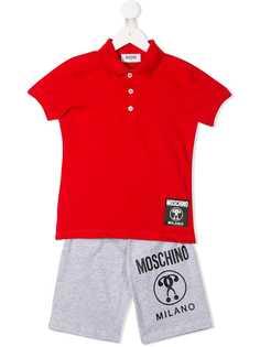 Moschino Kids шорты и футболка-поло