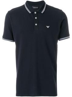 Emporio Armani футболка-поло с логотипом