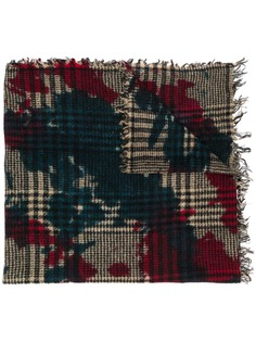 Faliero Sarti клетчатый шарф