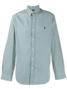 Ralph Lauren полосатая рубашка с логотипом