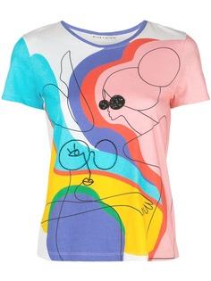 Alice+Olivia футболка Rylyn с принтом