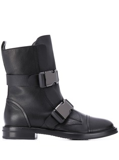 Casadei ботинки с ремешками и пряжками