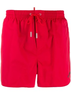 Dsquared2 плавки-шорты с логотипом