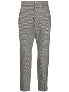 Just Cavalli классические брюки в ломаную клетку