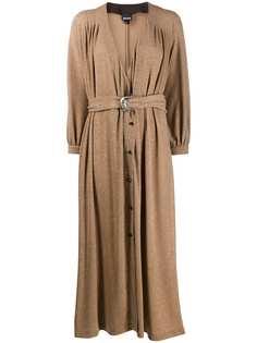 Just Cavalli платье макси с блестками