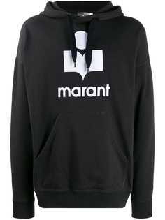 Isabel Marant толстовка свободного кроя с логотипом