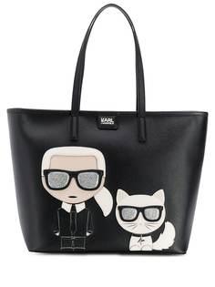 Karl Lagerfeld сумка-тоут K/Ikonik