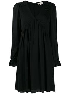 Michael Michael Kors короткое платье с V-образным вырезом