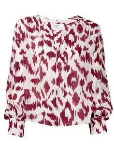 Isabel Marant Étoile блузка с леопардовым принтом