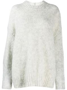 Isabel Marant вязаный свитер оверсайз