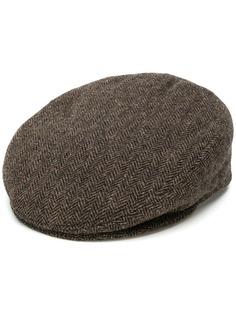 Isabel Marant фактурная кепка с узором в елочку