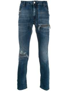 Diesel джинсы с прорезями