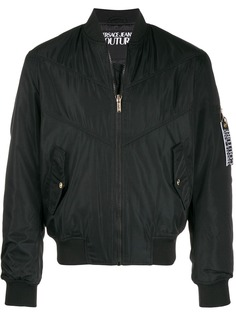 Versace Jeans Couture куртка-бомбер Etichetta Label