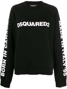 Dsquared2 толстовка оверсайз с логотипом