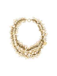Chanel Pre-Owned многослойное ожерелье