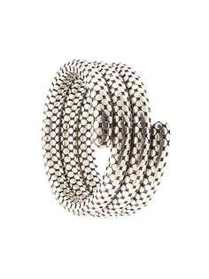 John Hardy тройной браслет Dot из серебра