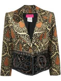Christian Lacroix Pre-Owned облегающая куртка