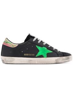 Golden Goose кроссовки на шнуровке Superstar