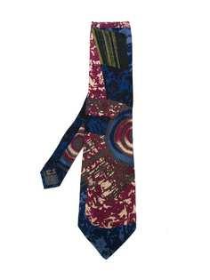 Claude Montana Pre-Owned галстук с абстрактным принтом