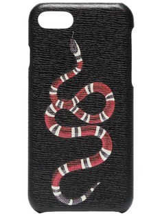 Gucci чехол для iPhone 8 с принтом Kingsnake
