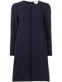 Max Mara платье прямого кроя с полоской спереди