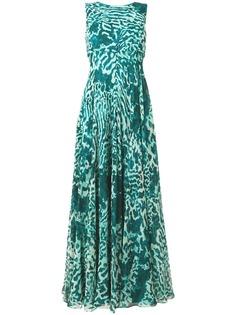Max Mara длинное платье со складками