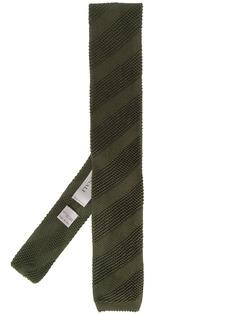 Canali вязаный шарф с полосками