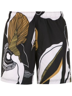 Osklen шорты для плавания с принтом