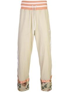 Adidas спортивные брюки со вставками