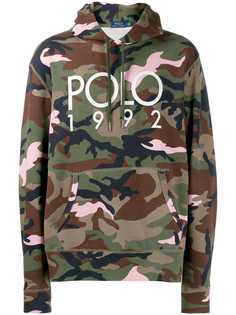 Polo Ralph Lauren классическое худи с логотипом