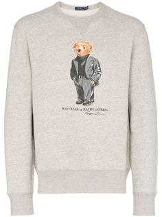 Polo Ralph Lauren толстовка с принтом Teddy Bear