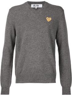 Comme Des Garçons Play свитер с вышивкой-сердцем