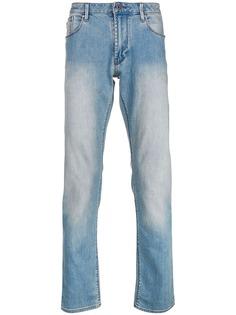 Emporio Armani прямые джинсы с выцветшим эффектом