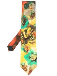 Jean Paul Gaultier Pre-Owned галстук с цветочным принтом