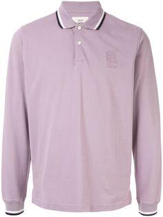 Kent & Curwen рубашка-поло с вышитым логотипом