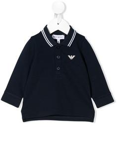 Emporio Armani Kids рубашка-поло с логотипом