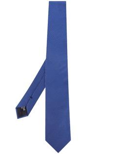 Emporio Armani галстук с узором шеврон