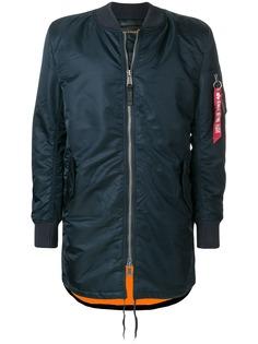 Alpha Industries удлиненная куртка-бомбер