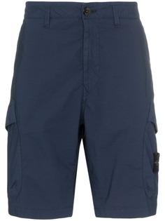 Stone Island спортивные шорты карго с карманами