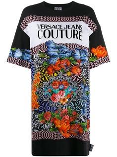 Versace Jeans Couture футболка с узором