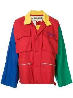 JC de Castelbajac Pre-Owned куртка колор-блок