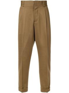Kent & Curwen брюки-чинос с подвернутыми манжетами