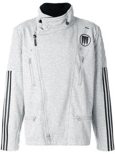 Adidas легкая куртка с молниями по бокам