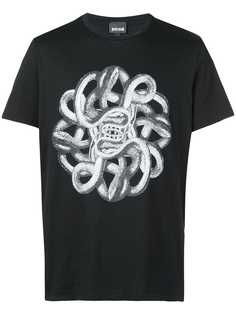 Just Cavalli футболка с принтом змей