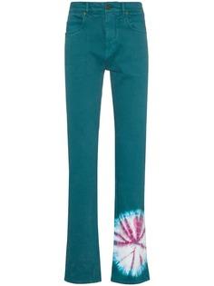 Calvin Klein 205W39nyc прямые джинсы с принтом тай-дай