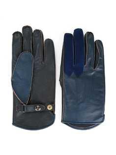 Addict Clothes Japan двухцветные перчатки