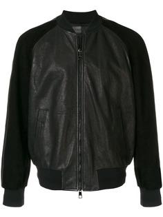 Neil Barrett куртка-бомбер с контрастными рукавами